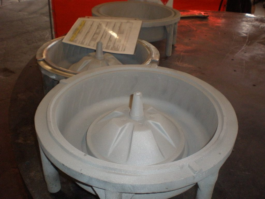 High Roller rear wheel molds
