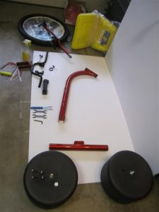High Roller Adult Size big wheel assembly