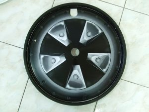 High Roller front wheel cover