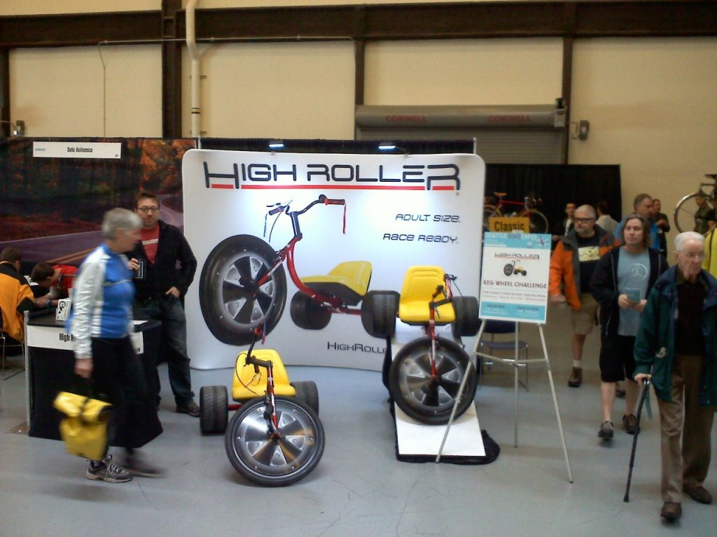 High Roller at Seattle Bike Expo 2013