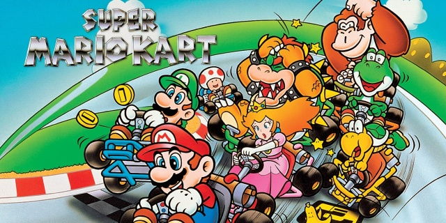Super Mario Kart title page