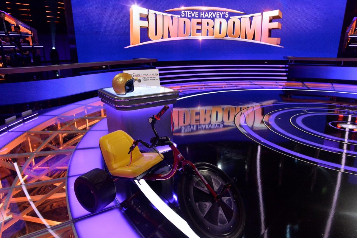 High Roller is a Proud Participant on Steve Harvey's Funderdome