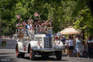 High Rollers in the Park Hill July 4th Parade! @ Parade Staging