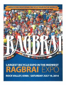 RAGBRAI Bike Expo! @ Rock Valley | Iowa | United States