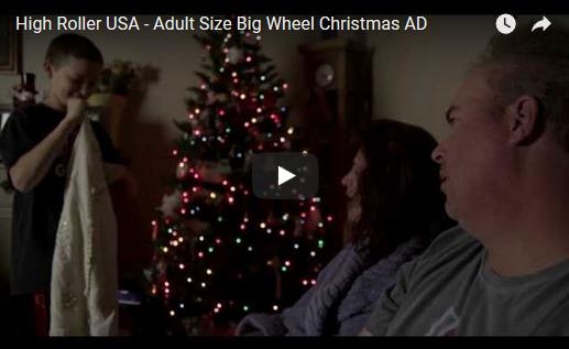 High Roller Christmas Ad