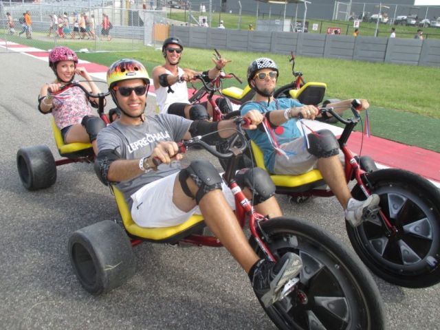 High Roller Adult Size Big Wheel Trike for Rental Fleets
