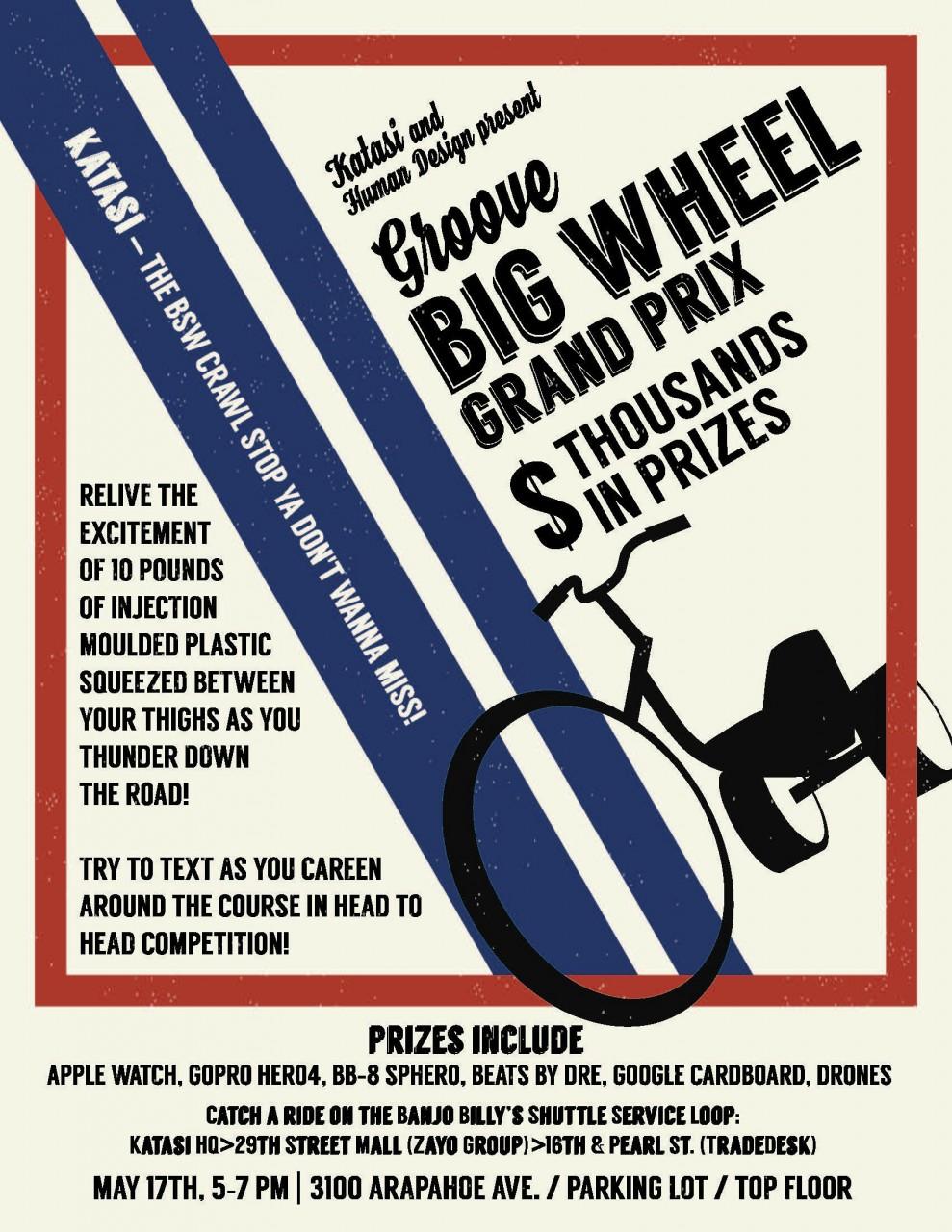 Katasi High Roller Big Wheel Challenge