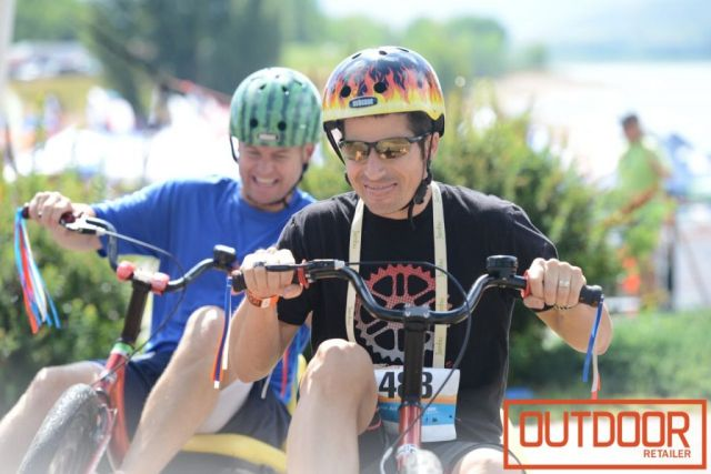 High Roller Adult Size Big Wheel Races and Events